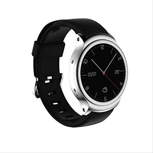NBPM Android 5.1 Smart Watch GPS 1 Gb + 16 Gb WiFi 3G Bluetooth 4.0 Smartwatch-Unterstützung Google Voice GPS-Karten-Herzfrequenzmesser für Ios Mit Headset Silber Bluetooth Headset Voice-dial