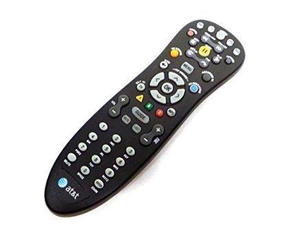 Original At & t U-Verse uverse s10-s4multifuncional de infrarrojos estándar universal Cable de Televisión Digital DVR TV Box Black Control Remoto números de parte compatibles: d-5456262551911, CYB ug-r # 0713