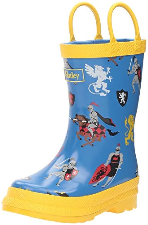 Hatley Boys' Rainboots Rain Boots, Medieval Knights, 5 Child UK 21 EU