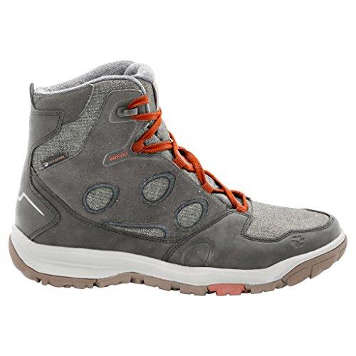 Jack Wolfskin Vancouver Texapore Mid M, Chaussures de Randonnée Hautes Homme Pewter Grey