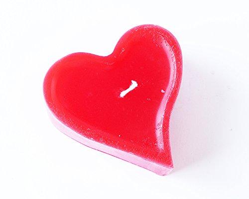 Romantische rote Herz- Kerze gute Qualität gutes Geschenk Neue Kollektion 2016