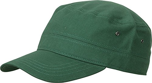 Myrtle Beach - Military Cap one size,Dark Green (Military Fashion Trendige)