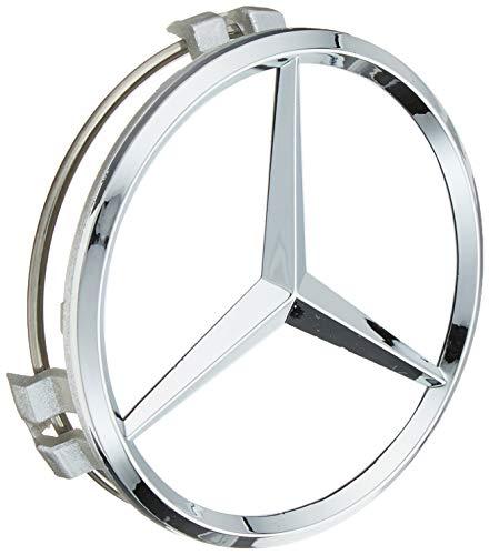 4x Tappi Coprimozzo Argento Logo Mercedes da 75mm - CLASSE A B C E CLK GL M ML SLK - per Borchie Cerchi Lega
