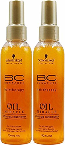 Schwarkopf - Huile spray baume Oil Miracle Duo Pack (2x 150ml)