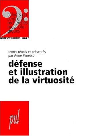 Défense et illustration de la virtuosité