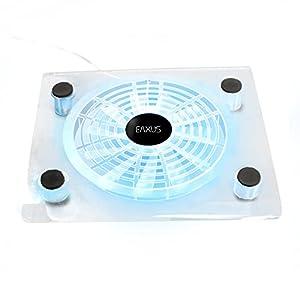 Eaxus®️ Kühler für PlayStation 4 – ❄️ LED Lüfter Ständer für PS4, PS4 Slim, PS4 Pro & Weitere Konsolen