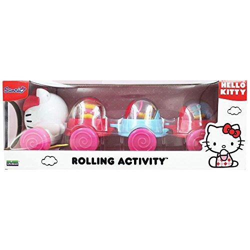 Hello Kitty Nachziehspielzeug bunt Gr. 39,5x14,5x15 cm