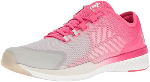 Under Armour Charged Push Women's Chaussure De Course à Pied - SS17 rot/hellgrau