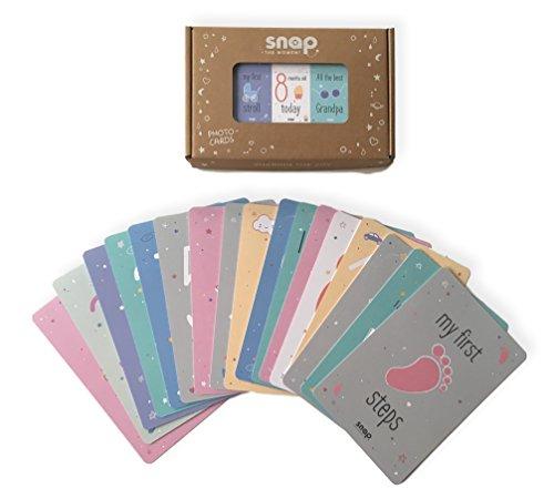 Snap The Moment Meilenstein-Karten für Babys und Kleinkinder, 0-3 Jahre - Snap-karte