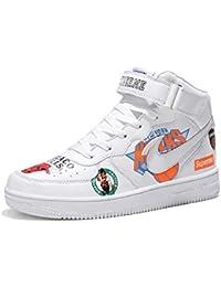 brand new f876a a5374 YSZDM Chaussures de Basket-Ball, Haut pour Aider l absorption des Chocs  antidérapant