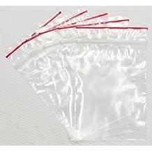 Zip Ziplock Sacchetto Trasparente 250X 350mm Sacchetti di plastica 45µ, Borsa con chiusura a scorrimento 100
