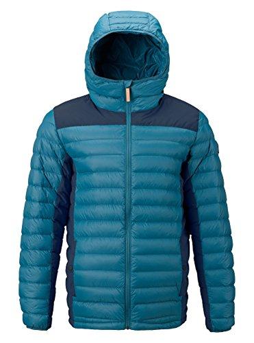 Burton Herren Evergreen Synthetic Hooded Insulator Funktionsjacke, Mountaineer/Mood Indigo, M (Insulator Jacke)
