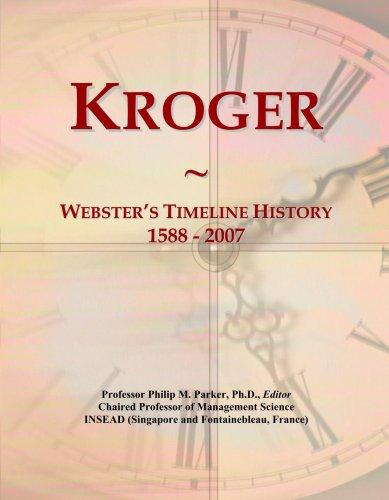 kroger-websters-timeline-history-1588-2007