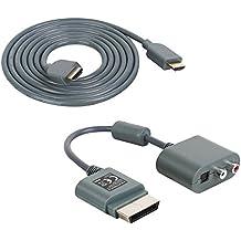 XBOX360/Xbox360Slim Cable Adaptador de audio Incluye cable HDMI de amathings