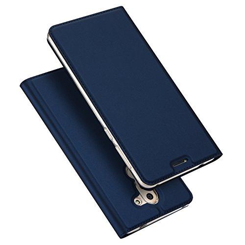 Creme-kamera-tasche (xifanzi Premium Wallet Ledertasche für Huawei Honor 6X Flip PU Folie Schutzhülle Ultra Dünn Tasche Klare Rückseitige Abdeckung Smart Sleep Cover mit Karte Halter Magnet Handyhülle Kompletter Schutz Leder Hülle Für Huawei Honor 6X --- Blau)