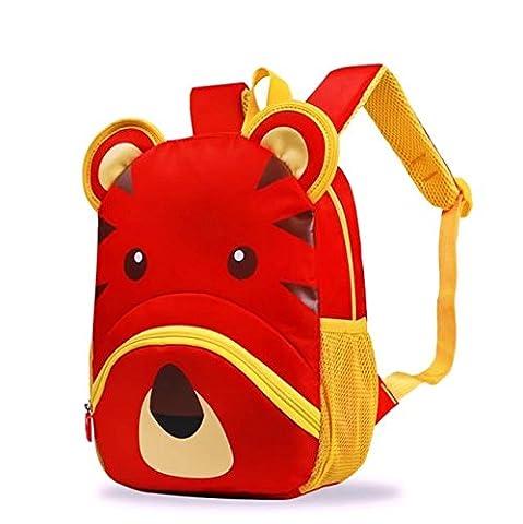 Dorapocket, Sac à dos enfant Bébé fille, red (rouge) - bb166
