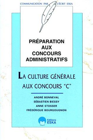 La culture générale aux concours de catégorie C