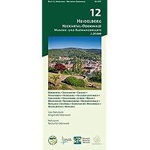Blatt 12, Heidelberg - Neckartal-Odenwald: Wander- und Radwanderkarte 1:20.000. Mit Bammental, Dossenheim, Gaiberg, Heddesbach, Heidelberg, ... und Naturpark Neckartal-Odenwald)