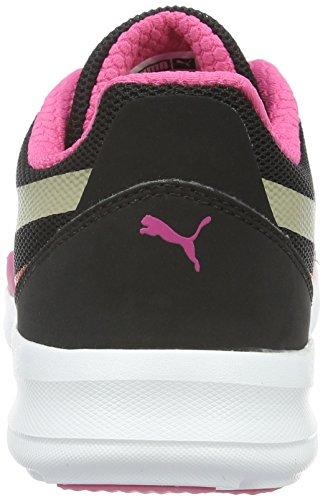 Puma Duplex Evo, Baskets Basses Mixte Enfant Noir - Schwarz (puma Black-Chinchilla 03)