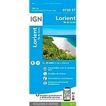 Lorient - Île de Groix 1:25 000