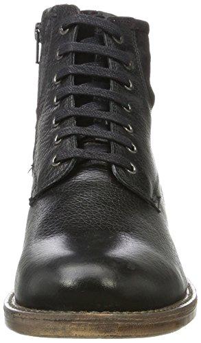 Salamander Herren Bill Biker Boots Schwarz (Black)