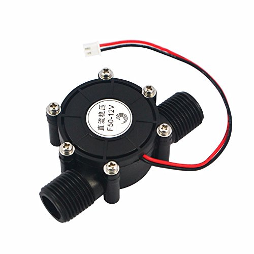 80V/12V/5V 10W DC Micro Hydro Turbine generador de potencia Tap de flujo...
