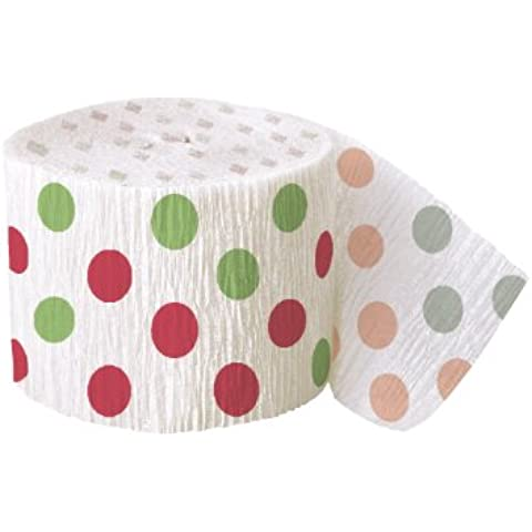 Decorative Dots Red & Green Polka Dot