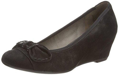 Gabor Tenerife - punta cerrada de cuero mujer, color negro, talla 40