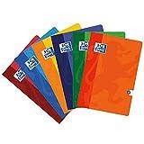 Oxford - Cuaderno A4 Pauta 2,5mm 48hj 90gr, multicolor (099443), 1 unidad, colores surtidos