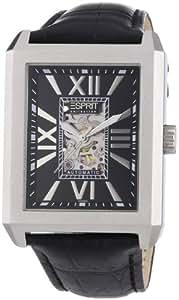Esprit Collection - EL101051F01 - Xanthos - Montre Homme - Automatique Analogique - Cadran Noir - Bracelet Cuir Noir