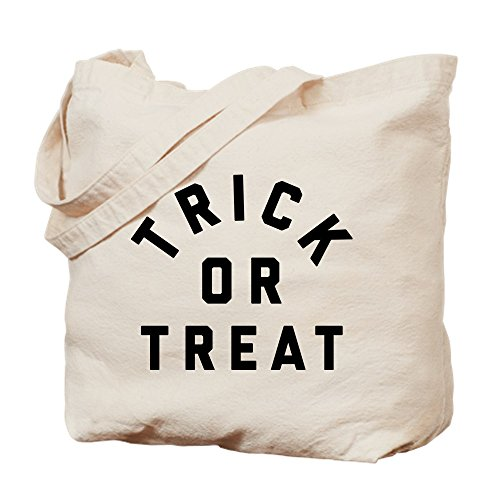 CafePress Trick Or Treat Tragetasche, canvas, khaki, - Best Trick Or Treat Kostüm