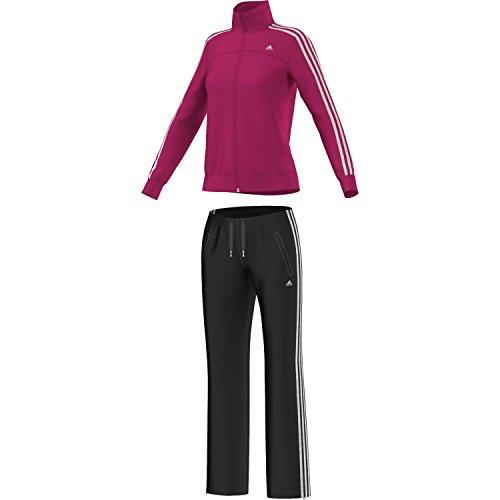 ESS 3S KNIT SUIT-Tuta sportiva Adidas da donna Multicolore