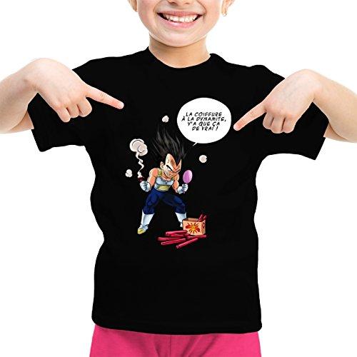 T-Shirts Dragon Ball Z - DBZ parodique Végéta : Astuce Se coiffer Le Matin ! (Parodie Dragon Ball Z - DBZ)