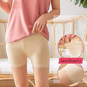 Marico Nahum Frauen-Unterwäsche-Spitze-Ränder Plus Größen-Sicherheits-Kurzschluss-Hosen-Gamaschen festes hübsches