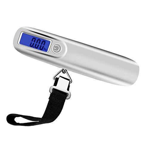 Báscula digital para equipaje, Weeygo báscula electrónica portátil para maleta
