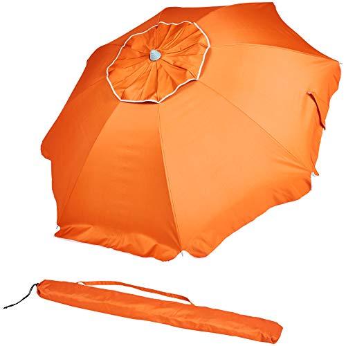 AmazonBasics - ombrellone da spiaggia, Arancione