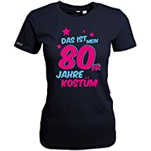 DAS IST MEIN 80er JAHRE KOSTÜM - WOMEN T-SHIRT