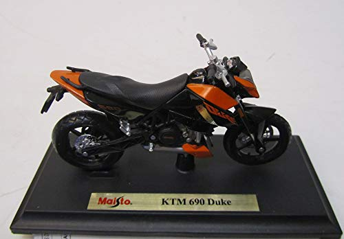 KTM 690 3 III Duke Orange Schwarz Mit Sockel 1/18 Maisto Modellmotorrad Modell Motorrad