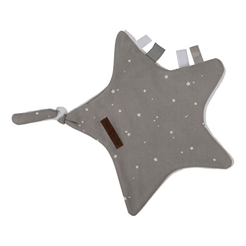 LITTLE DUTCH 6357 Schmusetuch / Kuscheltuch Stern little stars grau