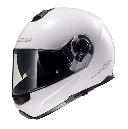 503251002/S CASCO MODULAR LS2 FF325 STROBE WHITE GLOSS TALLA S