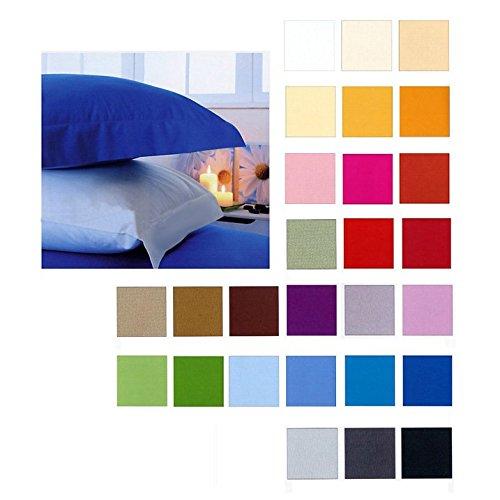 Completo letto Singolo Lenzuola 1 Piazza cotone 100% Colore CELESTE