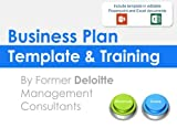 Business Plan Template and Training: Including an editable Business Plan Template in Powerpoint