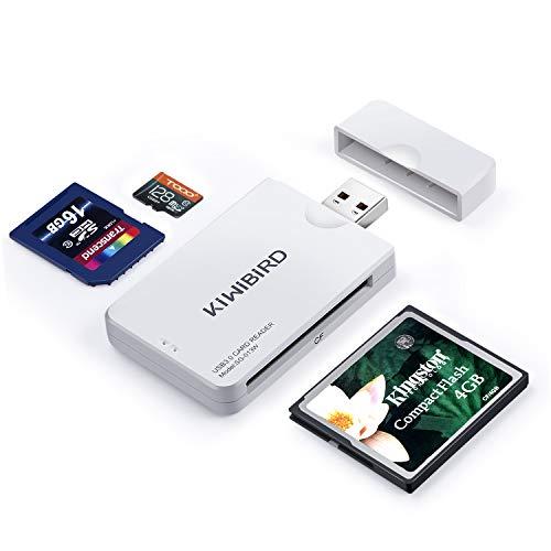 KiWiBiRD USB 3.0 3.1 Gen 1 Lector Tarjetas Alta Velocidad