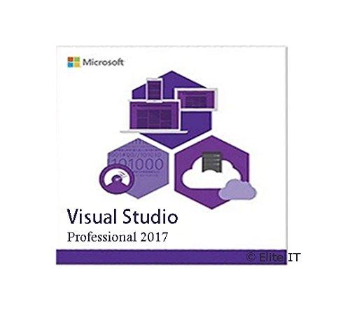 Microsoft Visual Studio 2017 Professional 1 User License (EN) Visual Studio 2010 Software