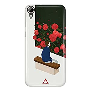 a AND b Designer Printed Mobile Back Cover / Back Case For HTC Desire 828 (HTC_828_3D_3515)
