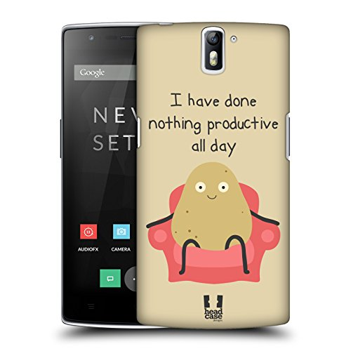 head-case-designs-couch-potato-nonsense-e-cose-random-cover-retro-rigida-per-oneplus-one