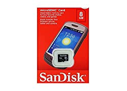 SanDisk Class 4 microSDHC Memory Card (8GB)