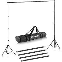 Neewer 2x3 Metros Kit de Soporte Estante de Fondo para Retrato, Fotografía de Producto y Grabación de Video
