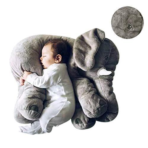 pelande Peluches de Peluche de Elefantes Blandos, Gran Almohada de Elefante bebé...