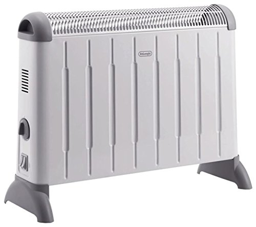The De'Longhi HCM2030 Convector Heater is an okay for price but there are better options which we have all ready reviews. It works just the same as most convection heaters do. The unit uses up 2000W to start and provide effective heating. This is not much considering that electricity Is sparely used.